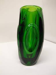 Bullet Vase The Retrobarn 1950 U2032s Czech Green U201cbullet U201cvase 45