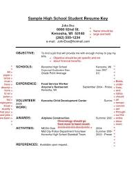 High Resume Template No Work Experience High Resume Template No Work Experience Sles Csat Co