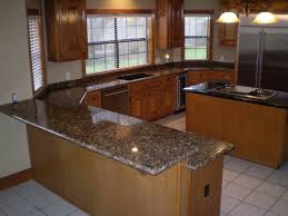 bathroom tiles flooring with kitchen island and eco stone