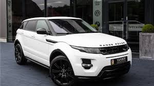 black land rover range rover land rover range rover evoque 2 0 si 241pk dynamic 4wd black pack