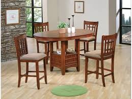 Dining Room Counter Height Tables 3 Color Options Empire 5pc Counter Height Dining Set 4 Stools