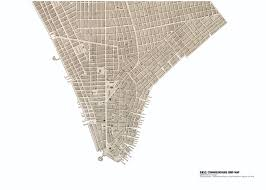 Downtown Manhattan Map Culturenow Exhibitions
