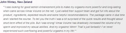 vimax volume testimonial what men says about it review from
