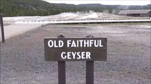 Old Faithful Inn Dining Room Menu by Yellowstone U0027s Old Faithful Inn And Geyser There She Blows Youtube