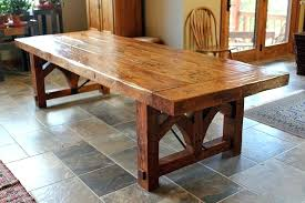 rustic solid wood dining table real wood dining table custom dining table with wood base rustic