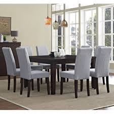 simpli home acadian 9 piece dining set u0026 reviews wayfair