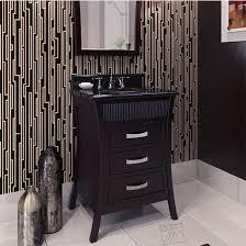 Black Bathroom Vanities With Tops Jeffrey Alexander Barcelona Modern Black Bathroom Vanity With