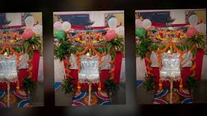 Flower Decoration At Home by Krishna Janmashtami Decoration Celebration At Home Youtube