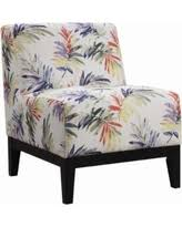 on sale now 33 off transitional dark brown accent chair