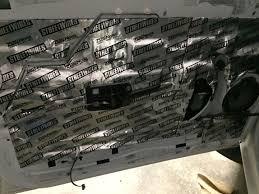 Sound Dening Interior Doors Audio Sound Deadening Material Mtx Audio Serious About Sound