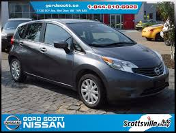 nissan versa sedan 2016 pre owned 2016 nissan versa note sv cloth cvt usb keyless