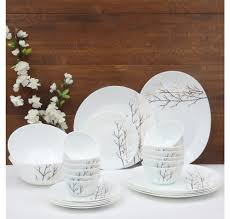 buy laopala golden fall 27 pieces dinner set ivory