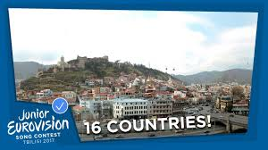 Georgia travel contests images 16 countries will participate at the 2017 junior eurovision song jpg