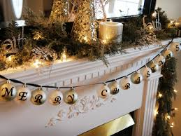 mantel christmas decorations ideas decorating home 2017 and lights