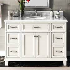 carolina 60 white double sink vanity by lanza lanza carolina 48 single bathroom vanity set wayfair