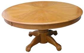 Inch Round Poker Table And Dining Table OAK - 60 inch round dining tables wood