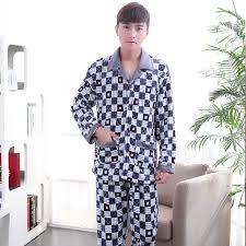 aliexpress buy sale flannel pajama suit sets print
