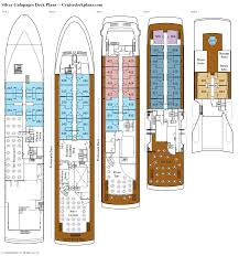 deck floor plan silver galapagos deck plans diagrams pictures video