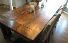 Barn Wood Dining Room Table Dining Room Pretty Rustic Dining Room Tables San Diego Bewitch