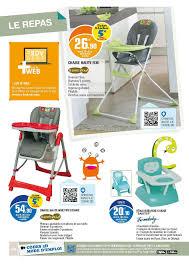 chaise haute b b leclerc e leclerc les rdv bébé cataloguespromo com