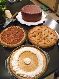 eating well thanksgiving there u0027s always room for dessert my creations and experiences