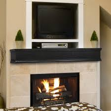 pearl mantels shop pearl mantels winchester 72 in w h x 9 in d ebony wash oak