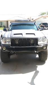 best jeep light bar 2005 2010 jeep grand cherokee wk brackets for 54 led light bar