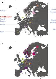 Genetic Maps Of Europe by Population Structure In The European Samples The Fine Scale