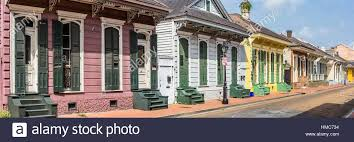 new orleans colorful houses usa louisiana new orleans typical colorful houses in the french