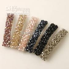hair barettes wholesale new hot korean hair accessories beaded hair