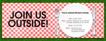 informal invitation birthday party online backyard barbecue bbq invitations evite