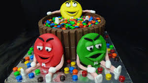 cake m u0026 m u0027s youtube