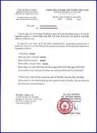 vietnam visa approval letter vietnam visa tourist visa visa