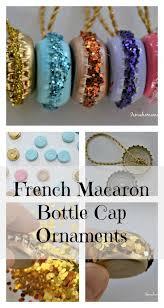 macaron ornaments macaron ornament and bottle