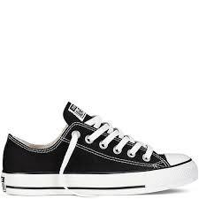 converse chucks ox all flach black schwarz niedrig neu größe - Converse Designer Chucks Schuhe All