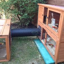 Large Rabbit Hutch With Run Den Connection Kit No Doors Large Rabbit Runaround Rabbit
