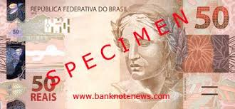 brazil new 50 and 100 real notes confirmed banknote news