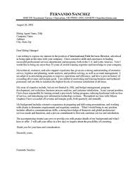 foundation executive director cover letter