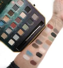 lorac pirates of the caribbean eyeshadow palette review u0026 swatches