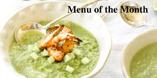 food of the month march menu of the month recipes for green food a fool for flowers