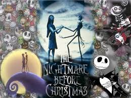 nightmare before christmas wallpaper jack and sally nightmare