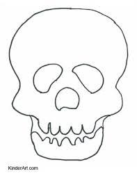 dead mask coloring u2013 kinderart
