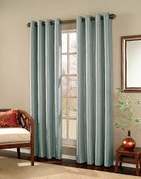 interior angelic design ideas using grey motif loose curtains and
