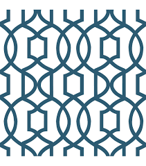 wallpops nuwallpaper navy grand trellis peel and stick wallpaper