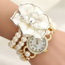 ladies pearl bracelet watches images Online shopping for electronics fashion home jpg