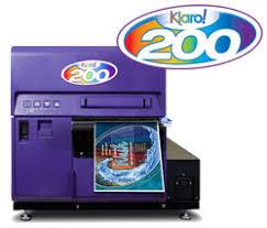 the kiaro 200 wide format inkjet color label printer from