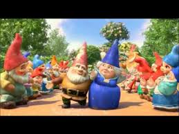 gnomeo juliet crocodile rock music video