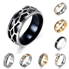 surgical steel band surgical steel rings without for men ebay