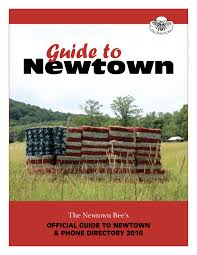 guide to newtown 2016 by bee publishing co issuu