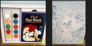 Classic Paint Disney Crafts